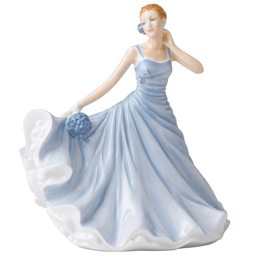 October HN5509  - Royal Doulton Petite Figurine