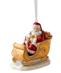 Santa in Sleigh HN5708 - Royal Doulton Ornament Figurine