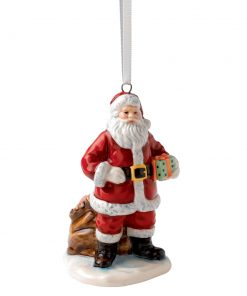 Santa with Sack HN5709 - Royal Doulton Ornament Figurine