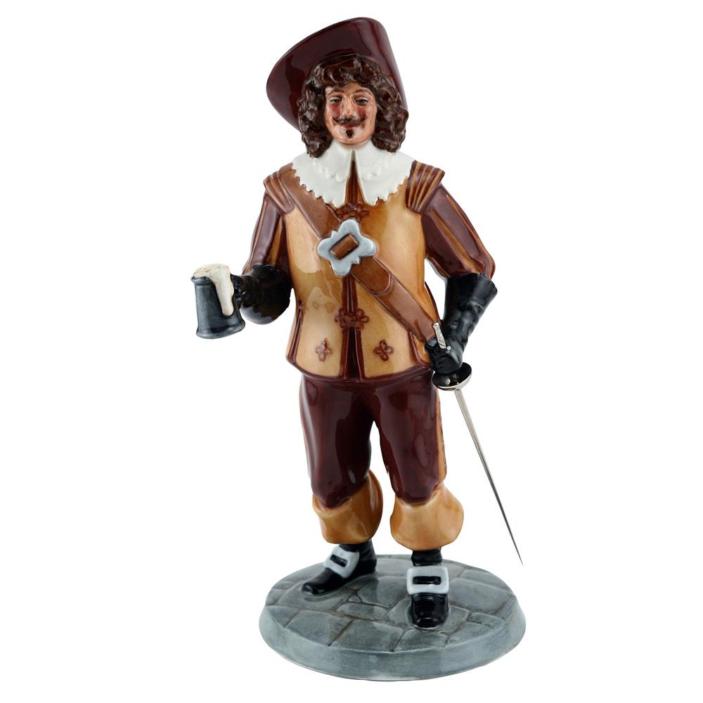 Porthos HN4416 - Royal Doulton Figurine