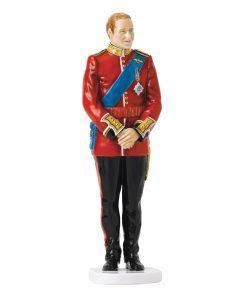 Prince William Wedding Day HN5573 - Royal Doulton Figurine