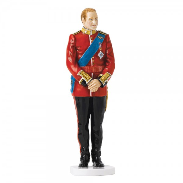 Prince William Wedding Day HN5573 - Royal Doulton Figurine