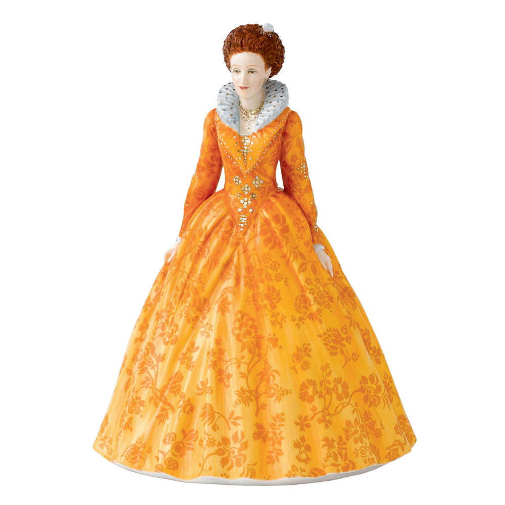 Queen Elizabeth I HN5704 - From the Young Queens Collection - Royal Doulton Figurine