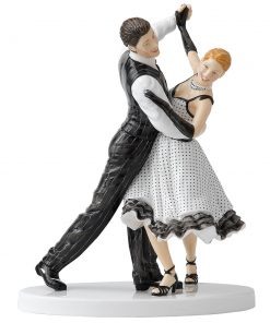 Quick Step HN5448 - Royal Doulton Figurine - Dance Collection