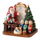 Santa HN5549 2011 - Santas Toy Testing - Factory Sample - Royal Doulton Figurine