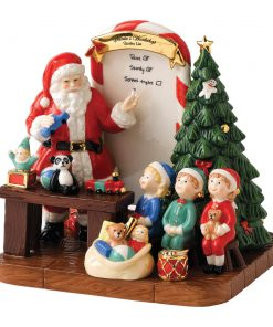 Santa HN5549 2011 - Santas Toy Testing - Factory Sample - Royal Doulton Figurine