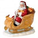 Santas Sleigh HN5689 - Royal Doulton 2014 Father Christmas Figure of the Year
