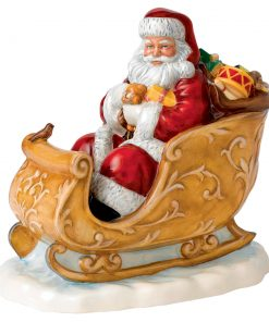 Santas Sleigh HN5689 - Royal Doulton 2014 Father Christmas Figure of the Year