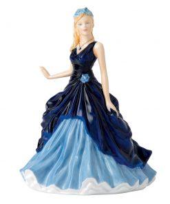 September Sapphire HN5634 - Royal Doulton Figurine