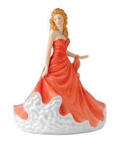 Sharon petite HN5624 - Royal Doulton Petite Figurine