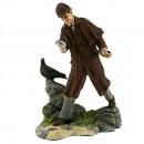 Sherlock Holmes (Sculpted) HN3639 - Royal Doulton Figurine