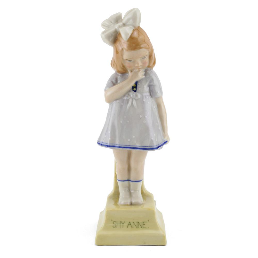 Shy Anne HN65 Pale blue - Royal Doulton Figurine