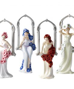 Window Seasons Collection - 4 pc. Set - Royal Doulton Figurine