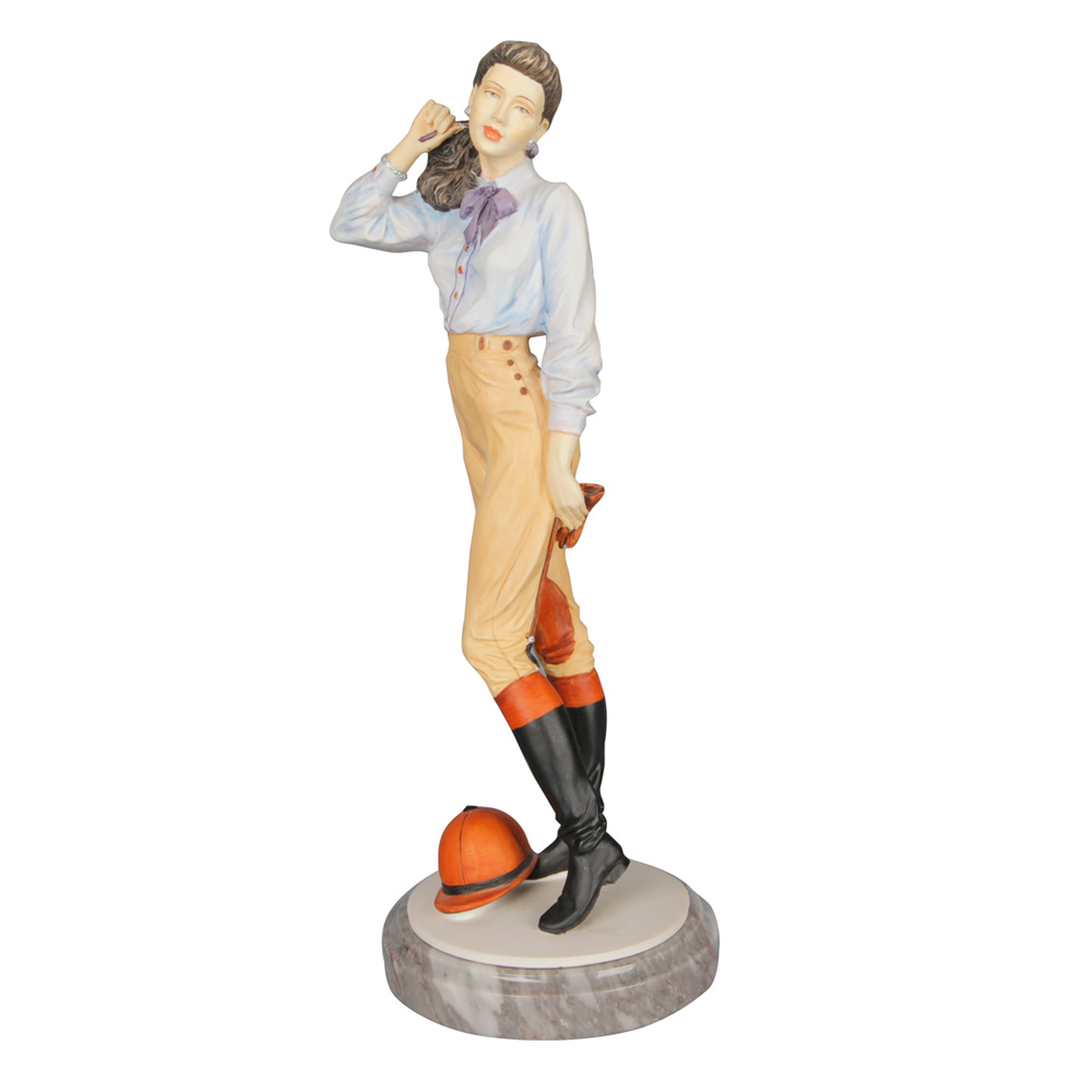 Taking the Reins (Sculpted) CL4013 - Royal Doulton Figurine