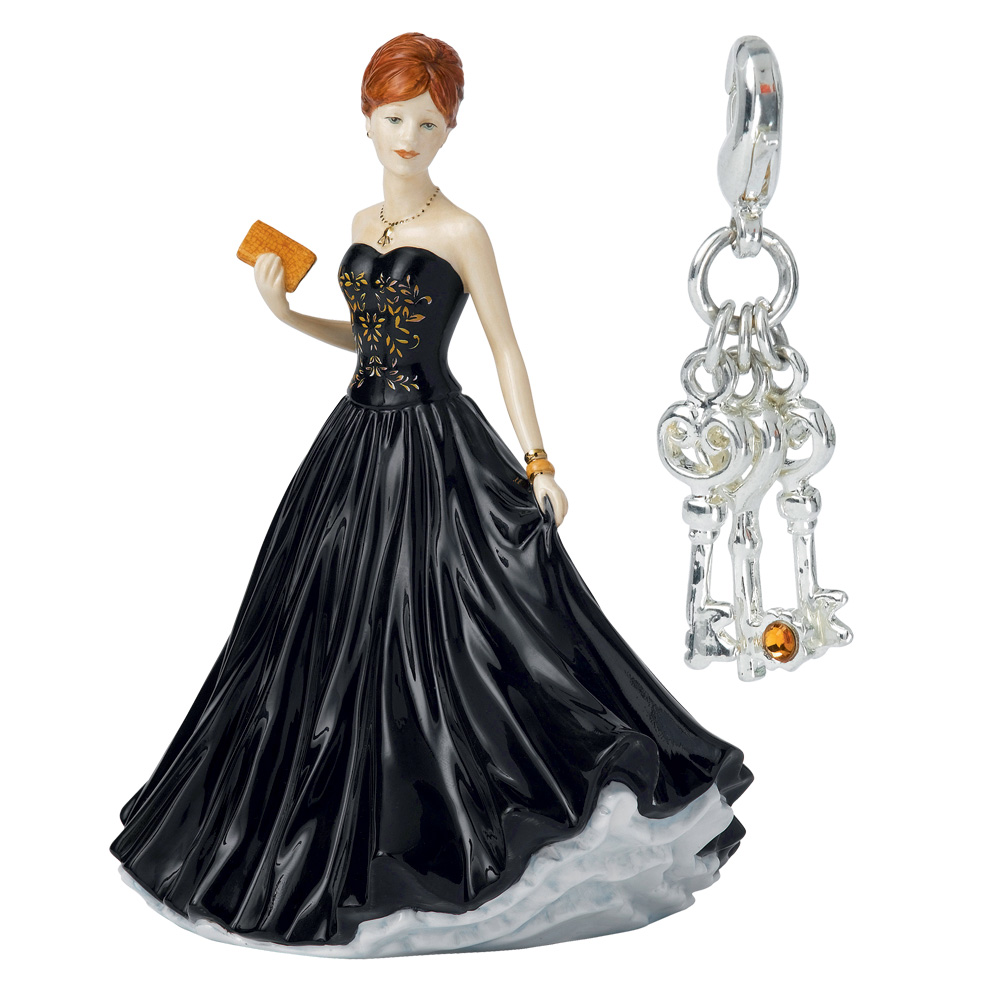 Three Keys Charm (Petite) HN5737 - Royal Doulton Figurine