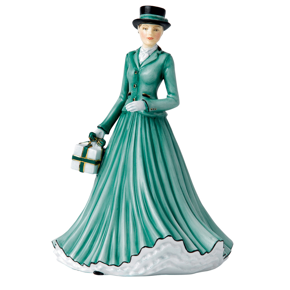 We Wish You A Merry Christmas HN5641 - From the Songs of Christmas Collection - Royal Doulton Figurine
