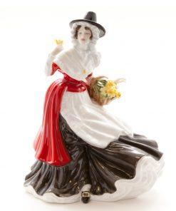 Welsh Lady Springtime HN5136 - Royal Doulton Prestige Figurine