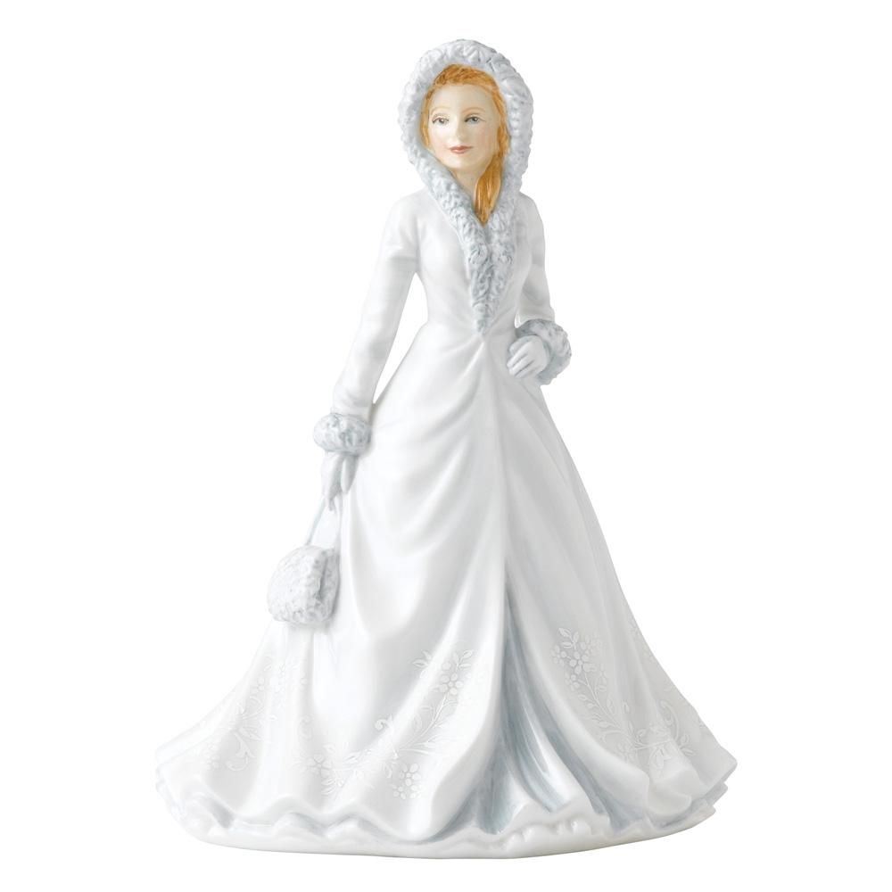 White Christmas HN5608 - Royal Doulton Figurine