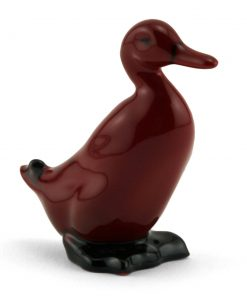Duck Standing - Royal Doulton Flambe