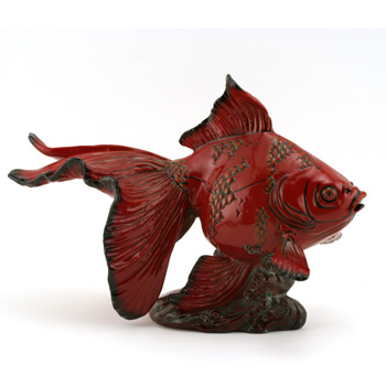 Gansu Fish - Royal Doulton Flambe