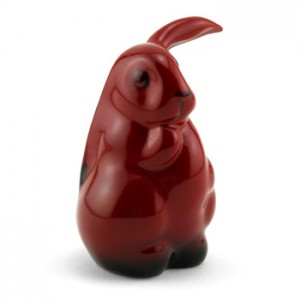 Hare Lop Eared (Small) - Royal Doulton Flambe