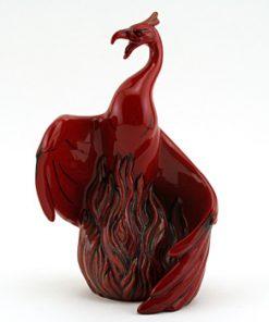 Nien Yen Phoenix BA68 - Royal Doulton Flambe