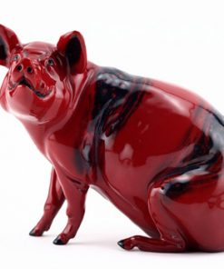 Year of the Pig 2007 BA78 - Royal Doulton Flambe