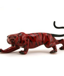 Sheng Chi Tiger BA66 - Royal Doulton Flambe