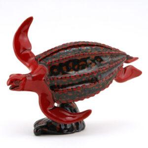 Tien Yi Turtle BA67 - Royal Doulton Flambe