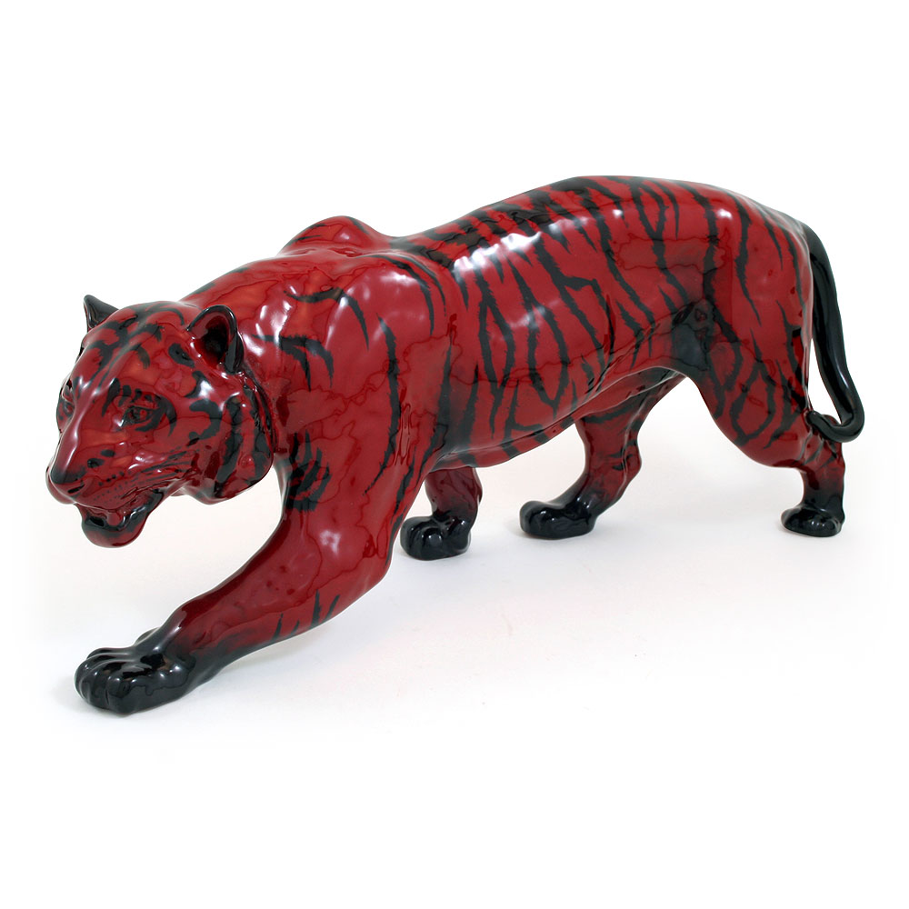 Tiger Stalking HN1082 - Royal Doulton Flambe