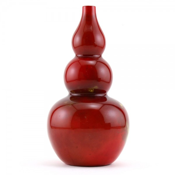 Vase Gourd Shape 7H - Royal Doulton Flambe