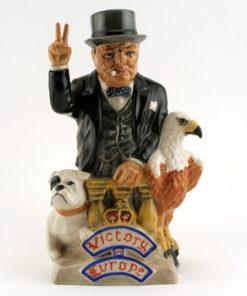 Admiral Churchill - Kevin Francis Toby Jug