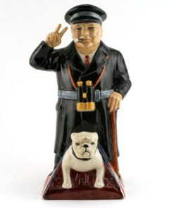 Churchill Standing - Kevin Francis Toby Jug