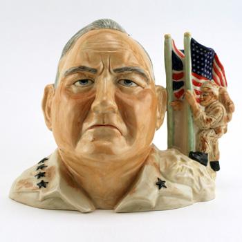 General Norman H. Schwarzkopf - Kevin Francis Toby Jug