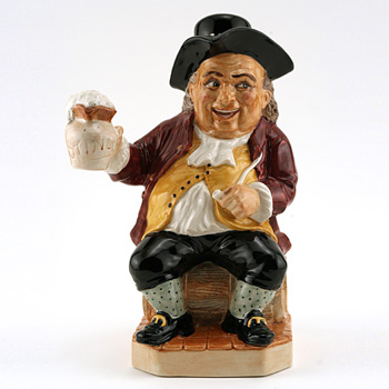 Toby Philpot with Stopper - Kevin Francis Toby Jug