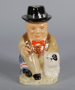 Churchill with Bulldog Toby AS