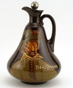 Ben Johnson Flask - Royal Doulton Kingsware