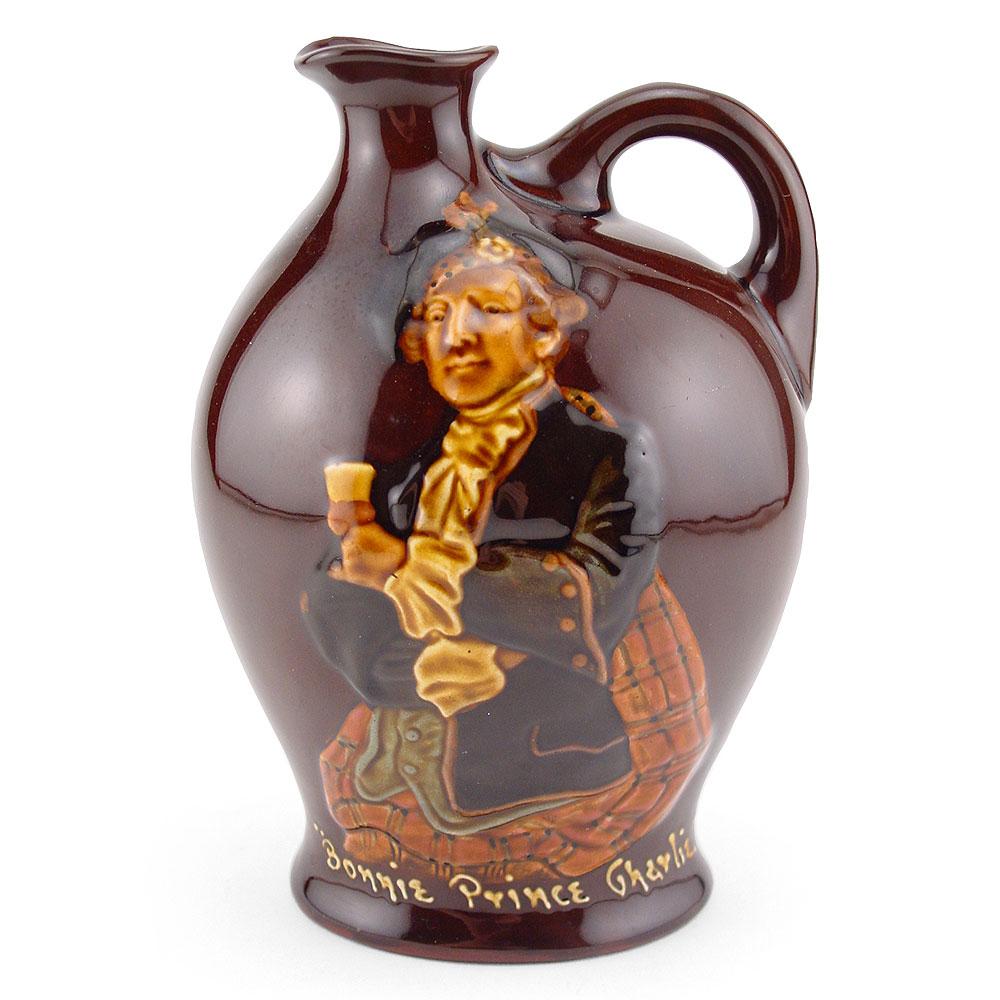 Bonnie Prince Charlie Bottle - Royal Doulton Kingsware