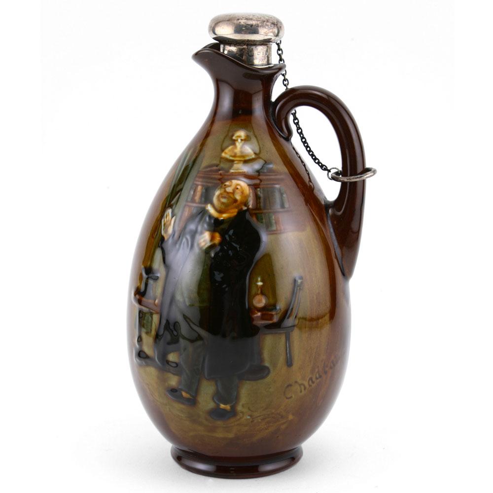 Chadband Bottle - Royal Doulton Kingsware