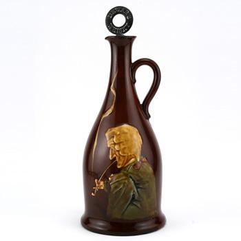 Churchwarden Bottle Whisky - Royal Doulton Kingsware