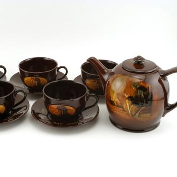 Cup That Cheers Tea Set - Royal Doulton Kingsware