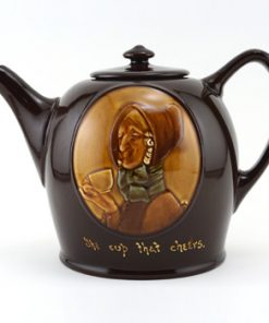 The Cup That Cheers Teapot - Royal Doulton Kingsware