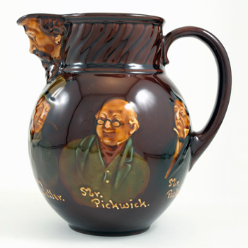 Dickens Pitcher - Royal Doulton Kingsware