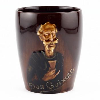 Don Quixote Beaker - Royal Doulton Kingsware