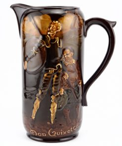 Don Quixote Pitcher - Royal Doulton Kingsware