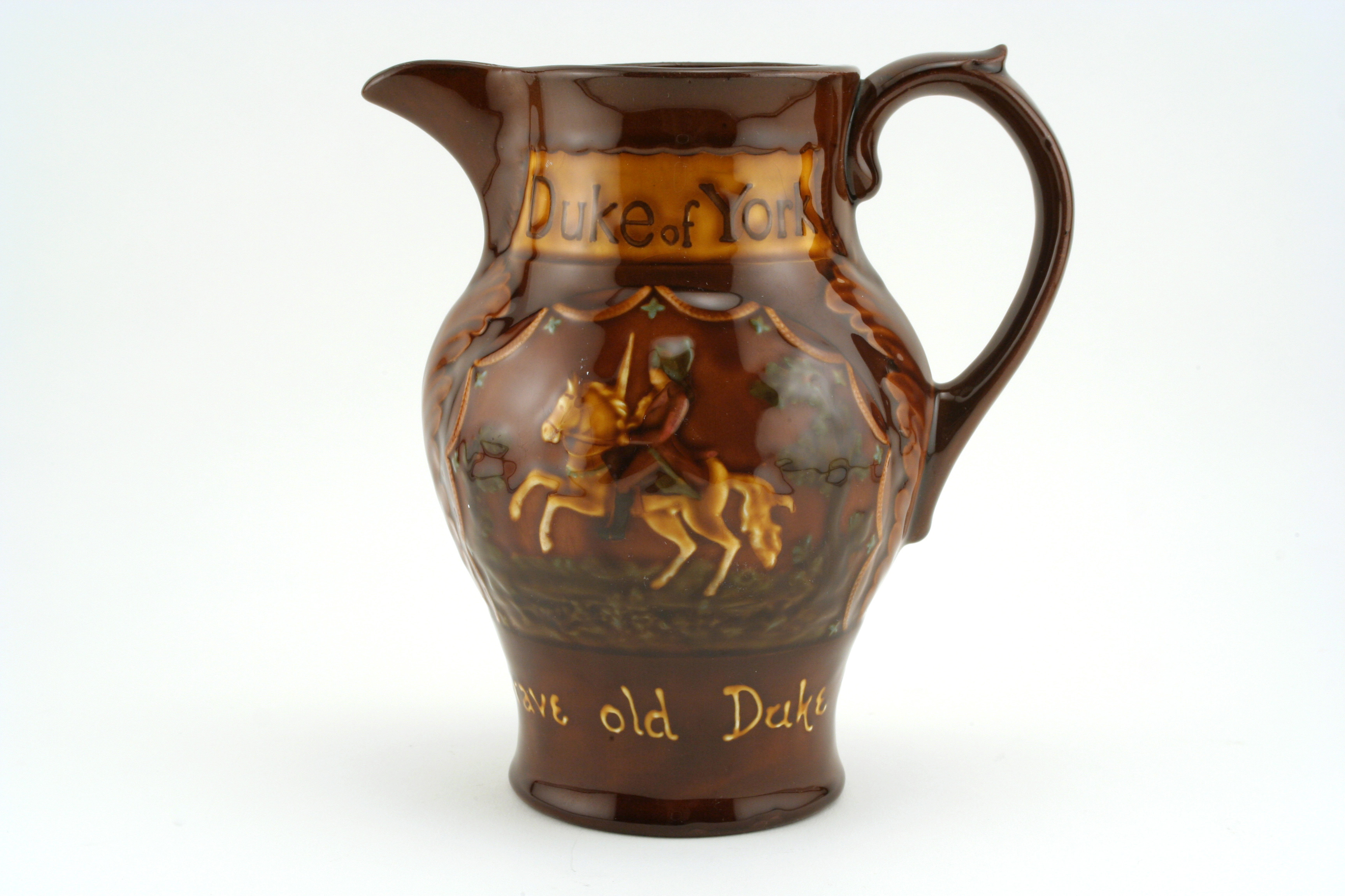 Duke of York Jug - Royal Doulton Kingsware