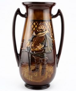 Falstaff Vase Double Handle - Royal Doulton Kingsware