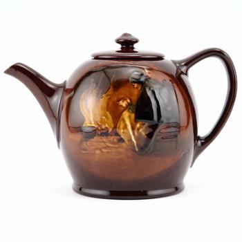 Fireside Teapot - Royal Doulton Kingsware