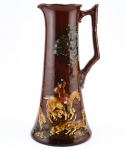 Fox Hunting Pitcher, Large - Royal Doulton Kingsware