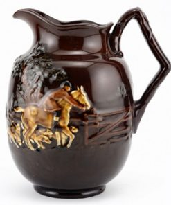 Fox Hunting Pitcher, Medium - Royal Doulton Kingsware